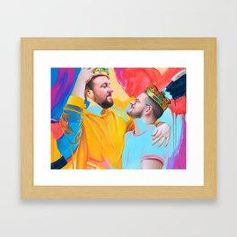 Simon & BJ Framed Art Print