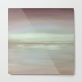 New Day 11 - Abstract Art Series by Jennifer Berdy Metal Print