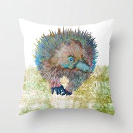 Echidna Explorer Throw Pillow