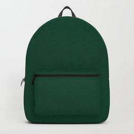 Dark Christmas Green Backpack