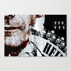 Skeletons of society Canvas Print