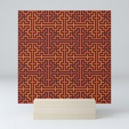 Autumn colors sayagata Mini Art Print