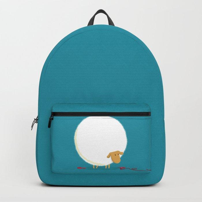 Fluffy Sheep Backpack