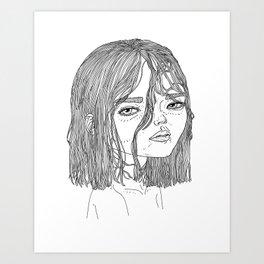 Nemu Art Print