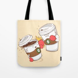 Strong Coffee Tote Bag