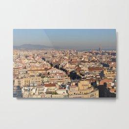 A View of Barcelona Metal Print