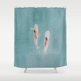 float vii Shower Curtain