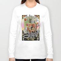 metropolis Long Sleeve T-shirts featuring Metropolis  by KRNago