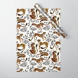 Cheetah Collection – Mocha & Black Palette Wrapping Paper