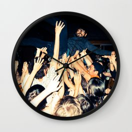 Stage Diving Wall Clock