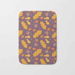 Autumn is Coming Bath Mat