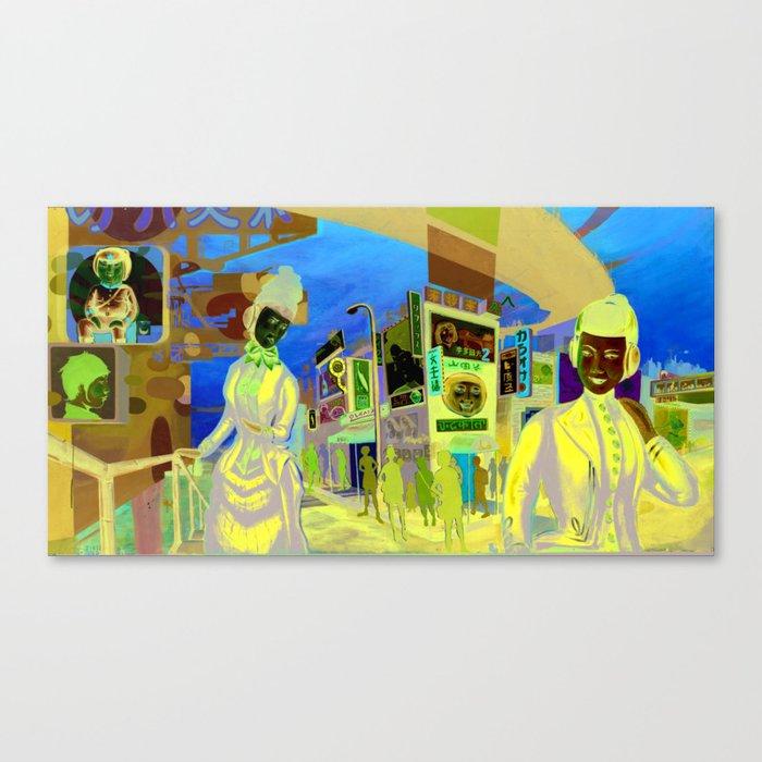 Roach City Canvas Print