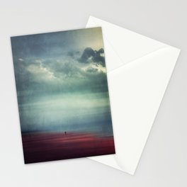 Nothing Matters - Abstract Minimal Beach Scene Stationery Cards