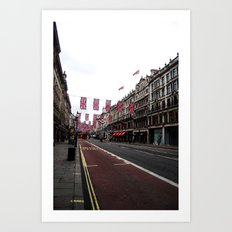 Regent Street Art Print
