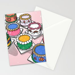 cake party  Stationery Cards