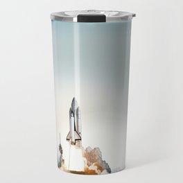 Rocket launch Travel Mug