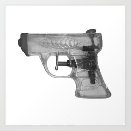 Lysn Pistol Art Print