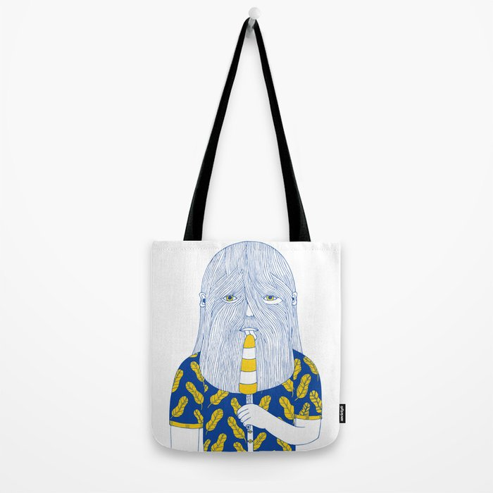 Autumn in Your Face Tote Bag