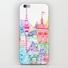 New Zealand Towers  iPhone Skin