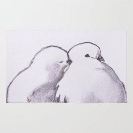 love birds Rug