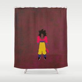 SSJ4 Saiyan Shower Curtain