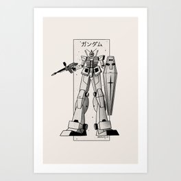 RX 78 Art Print