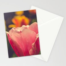 Pretty Pink Flower Stationery Cards