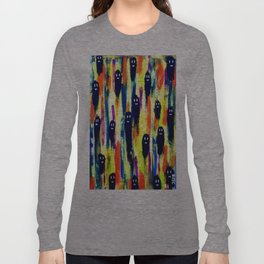 paint-pattern 1 (the chaps) Long Sleeve T-shirt