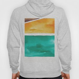 180811 Watercolor Block Swatches 7| Colorful Abstract |Geometrical Art Hoody