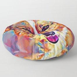 Corgi 4 Floor Pillow