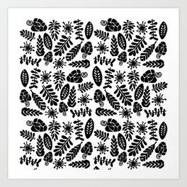 Cashew Pattern Art Print