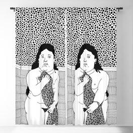 Botero - Woman in bath Blackout Curtain