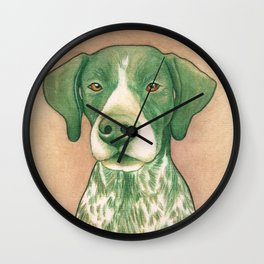 Pointer dog - Jola 02 Wall Clock