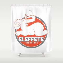 El Effete Shower Curtain