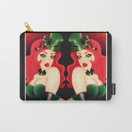 Luck Of The Irish Girl Carry-All Pouch