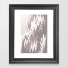 Young woman 2 Framed Art Print