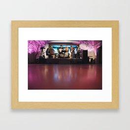 woods band Framed Art Print