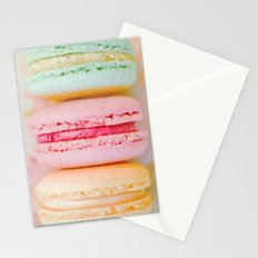 Happy Macarons Stationery Cards