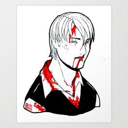 Goretober #23 - Slow and Steady Art Print