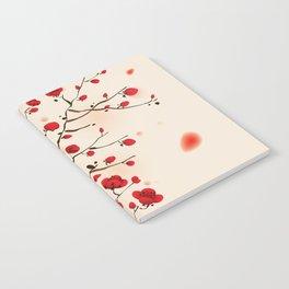 Oriental plum blossom in spring 006 Notebook