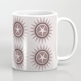 Star flower design Coffee Mug