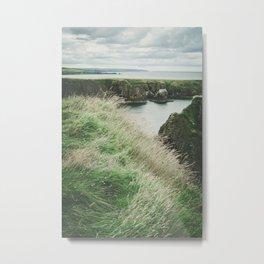 East coast of Scotland Metal Print