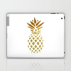 Golden Pineapple Laptop & iPad Skin