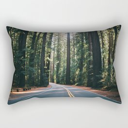 Avenue of the Giants Rectangular Pillow