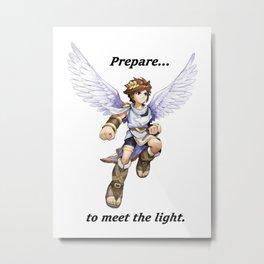 Kid Icarus - Pit Metal Print