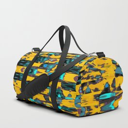 Abstract BB DW Duffle Bag