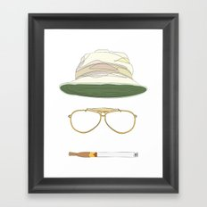 Movie Icons: Fear and Loathing in Las Vegas Framed Art Print