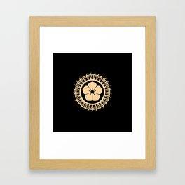 Protective circle Framed Art Print