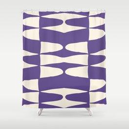 Zaha Ultra Violet Shower Curtain