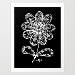 White Flower 93 Art Print